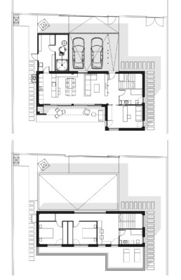 vivienda unifamiliar planos alem arquitectura