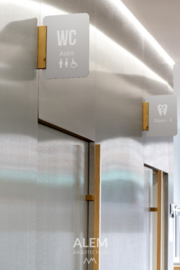 reforma clinica dental valladolid alem arquitectura